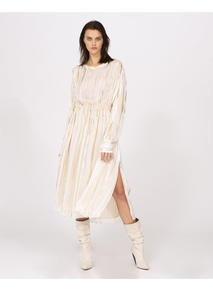 Iro Beloved dress - Ecru