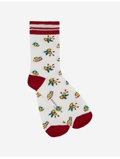 Maison Kitsuné All-over Limone socks - Multi