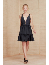 Magali Pascal Cady Mini Dress - Midnight