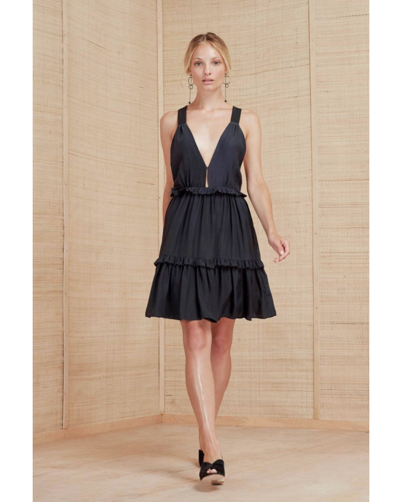 Magali Pascal Cady Mini Dress - Midnight