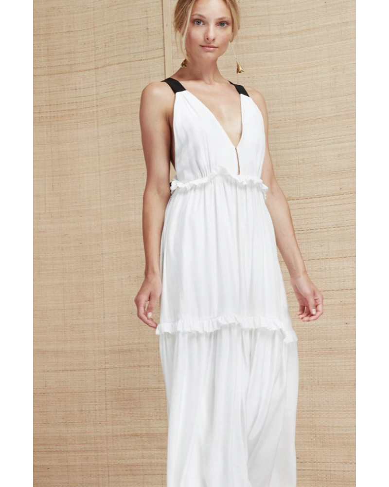 Magali Pascal Cady Maxi Dress - Off White