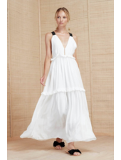 Magali Pascal Cady Maxi Dress - Off White