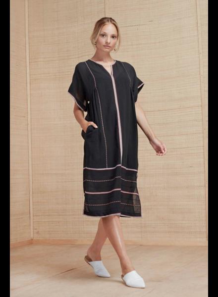 Magali Pascal Berber Dress - Midnight