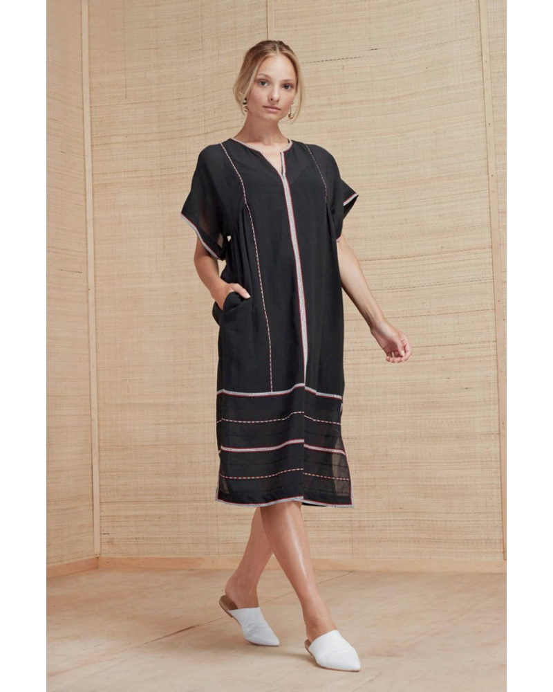Magali Pascal Berber Dress - Midnight