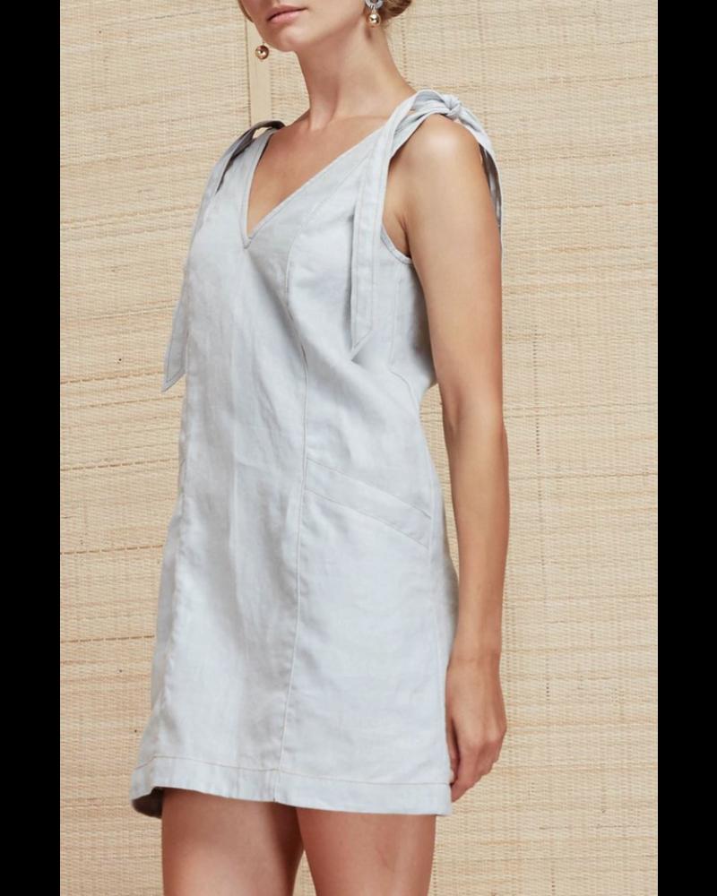 Magali Pascal Amina Dress - Grey Blue