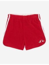 Maison Kitsuné Terry Cloth Sport Short - Red