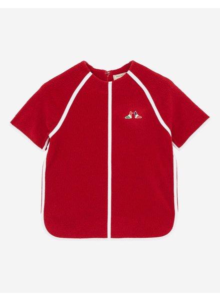 Maison Kitsuné Terry Cloth Top - Red