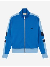 Maison Kitsuné Technical Zipped Sweatshirt - Blue