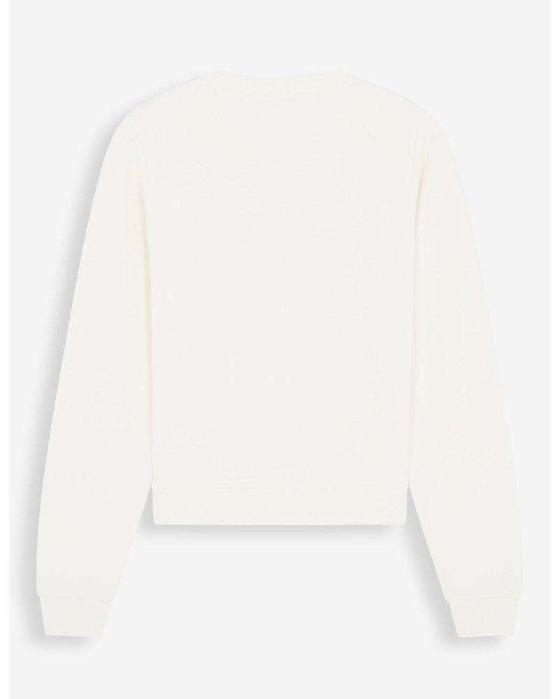 Maison Kitsuné Sweatshirt Limone - Ecru