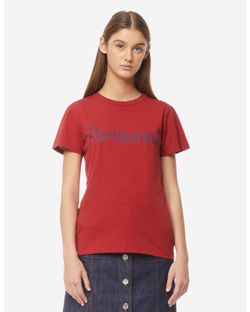 Maison Kitsuné T-shirt Parisienne - Red
