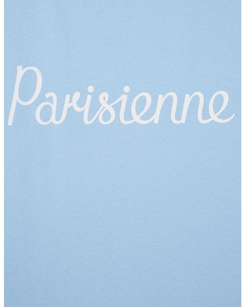 Maison Kitsuné T-shirt Parisienne - Light Blue