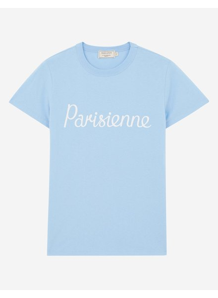 Maison Kitsuné T-shirt Parisienne - Light Blue