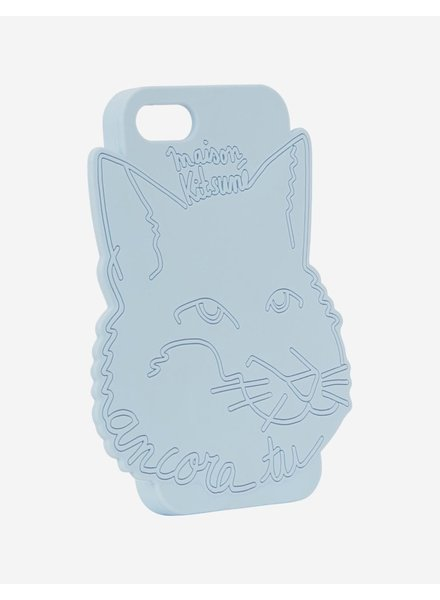 Maison Kitsuné iPhone case 3D Ancora - Light Blue