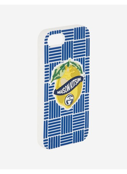 Maison Kitsuné iPhone Case 3D Limone - Mulitcolor