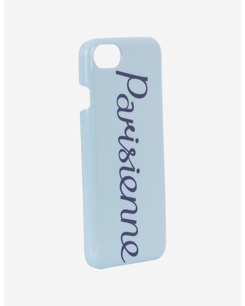 Maison Kitsuné iPhone Case Parisienne - Light Blue