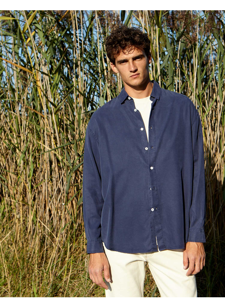 Edition M.R. Pantheon chemise - Blue Storm - size 42