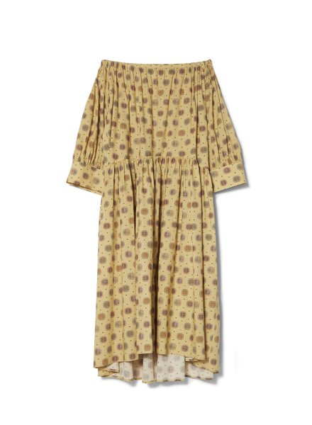 Totême Cimano dress - Yellow Print