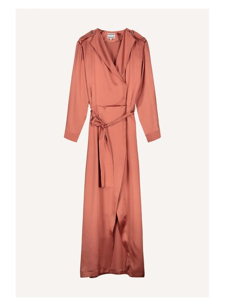 Valentine Gauthier Blondie long dress - Satin Sunset