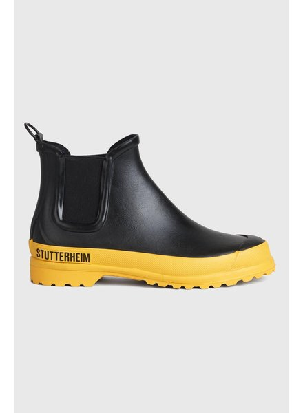 Stutterheim Chelsea rainwalker - Black/Yellow