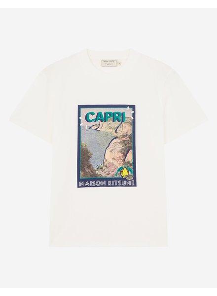 Maison Kitsuné T-shirt Locandina - Ecru