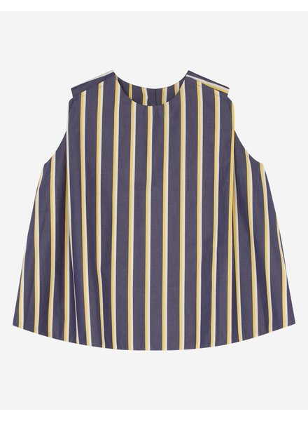 Maison Kitsuné Holly top - Navy Stripe