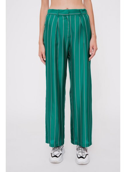 Margaux Lonnberg Larry pants - Green Stripes