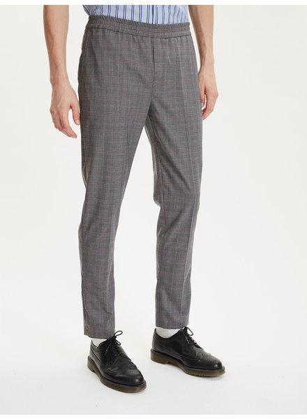 Libertine Libertine Belief trousers - Asphalt Check