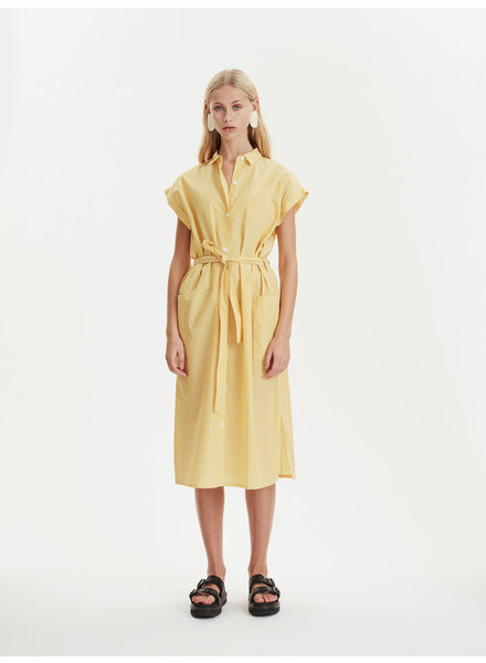 Libertine Libertine Unit dress - Yellow Stripe