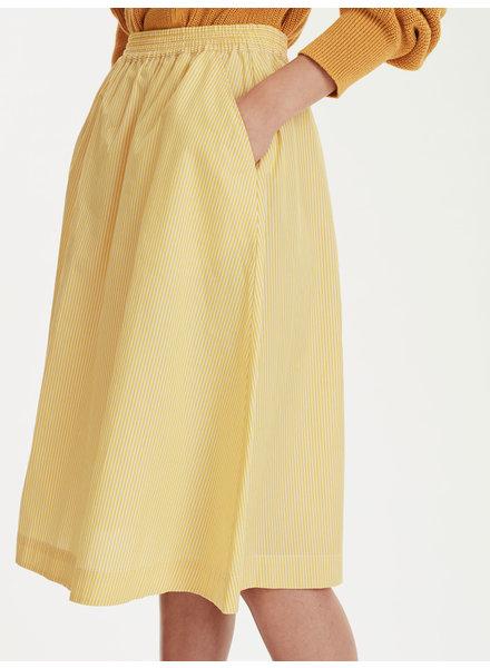 Libertine Libertine Global skirt - Yellow Stripe