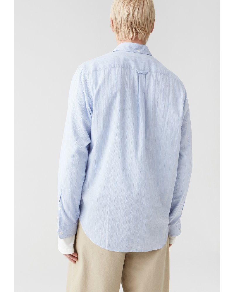 Hope Button down Shirt - Blue Stripe