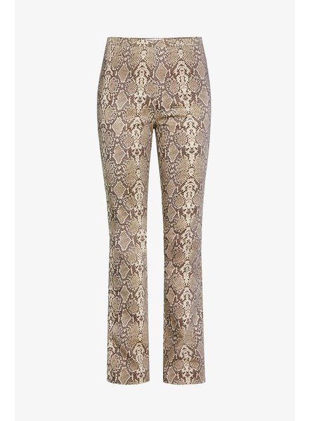 Anine Bing Cigarette Trousers - Python