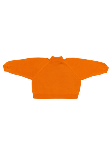 I Love Mr Mittens Maxi Jumper Cotton - Tangerine