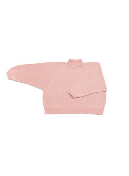 I Love Mr Mittens Maxi Jumper Cotton - Baby Rose