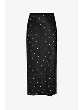 Anine Bing Bar silk skirt - Polka dot