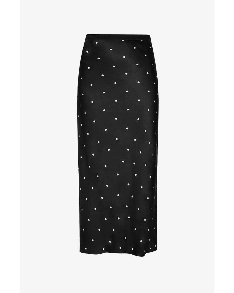 Anine Bing Bar silk skirt - Polka dot