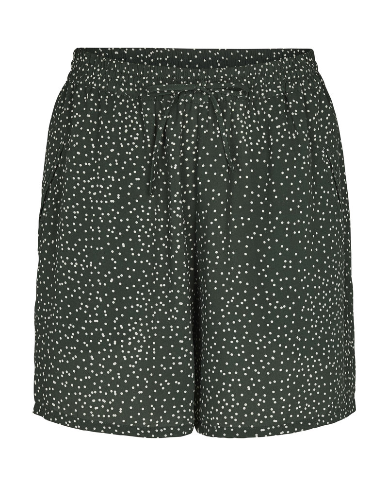 Just Female Image shorts - Green dot