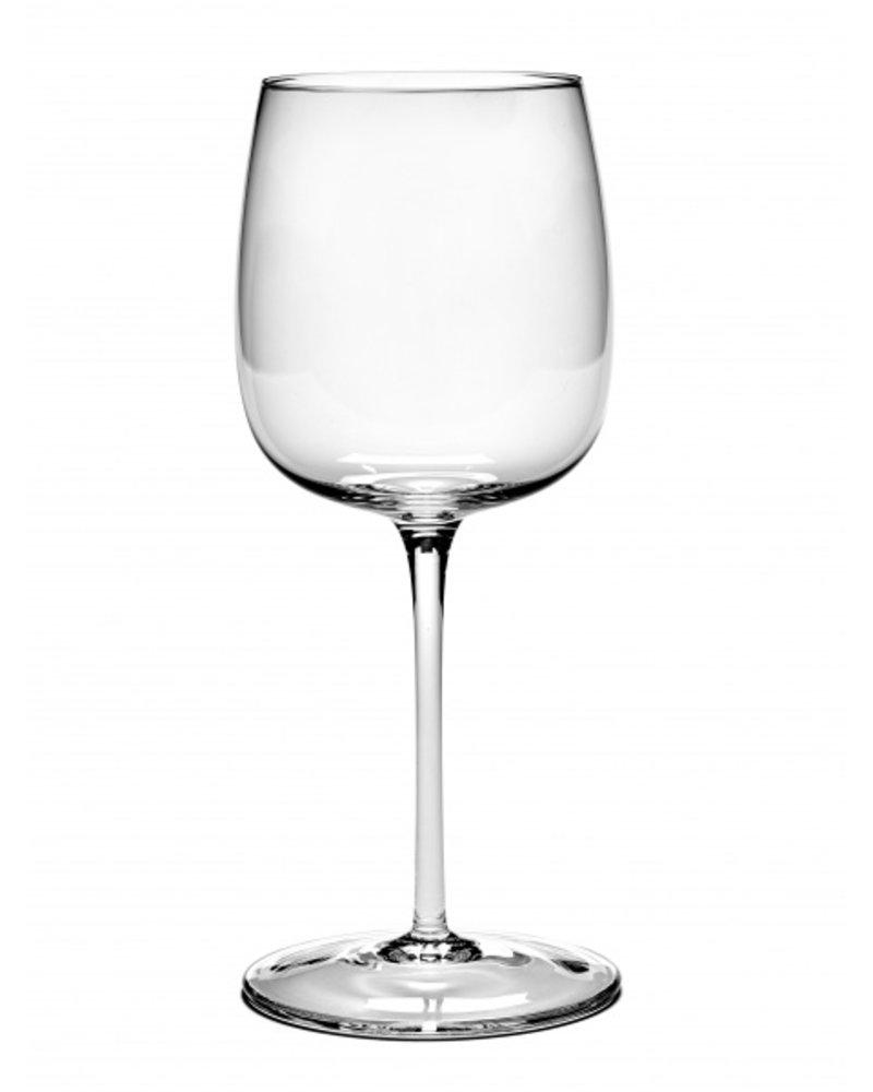 Vincent Van Duysen RED WINE GLASS CURVED PASSE-PARTOUT H23cm D9,6cm 45CL