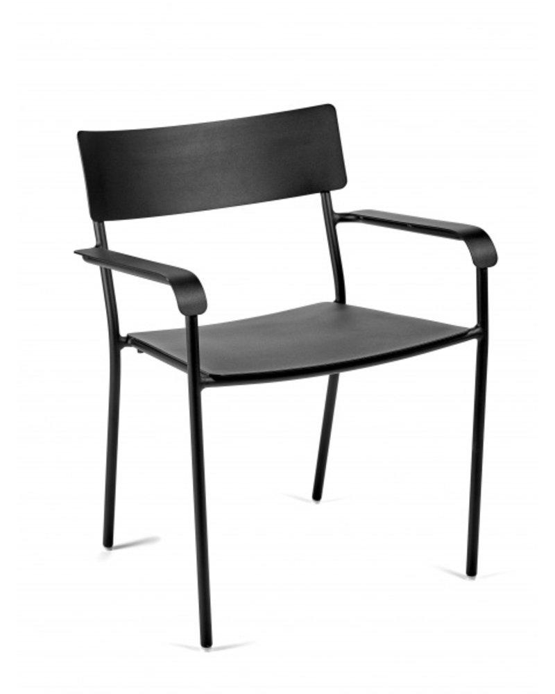 Vincent Van Duysen AUGUST stoel met armleuning 59X60 H79