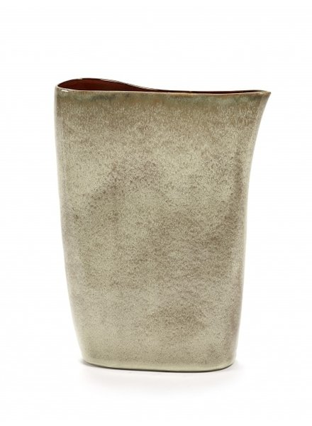 Anita Le Grelle for Serax VASE high 26X9 H33 Misty Grey