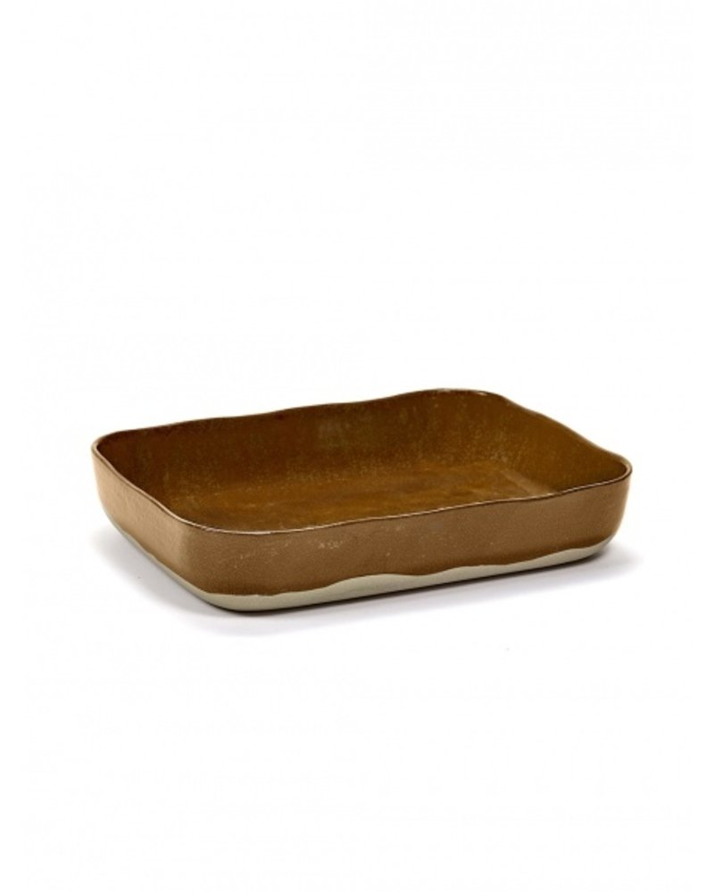 Merci for Serax OVEN DISH N°10 30,1x22,3 H5,5 OCRE/BROWN