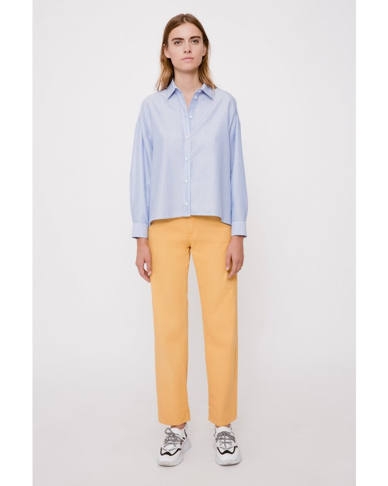 Margaux Lonnberg Adeline shirt - Blue Stripes