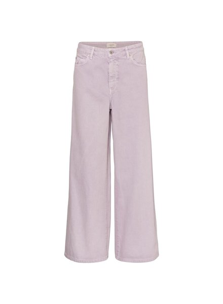 NORR Velma wide leg jeans - Lilac