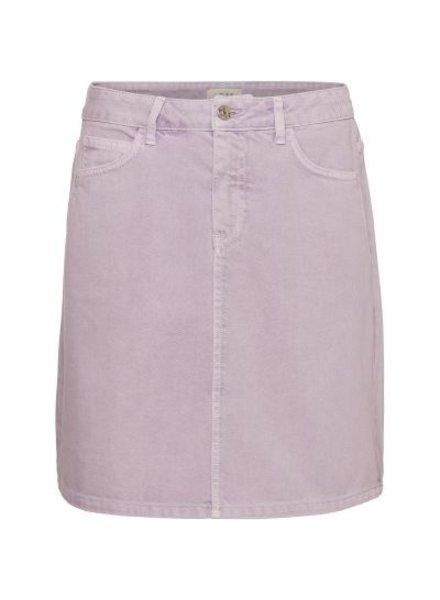 NORR Velma denim skirt - Lilac