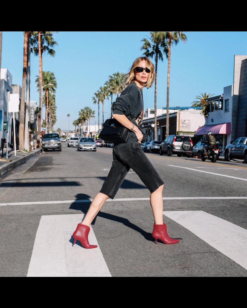 Anine Bing Phoebe shorts - Charcoal