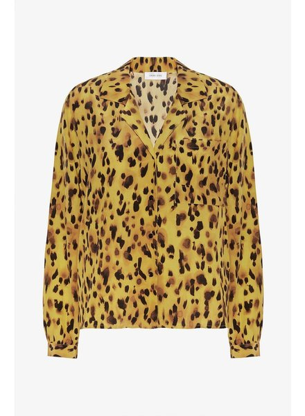 Anine Bing Lilah Shirt - Golden Leo