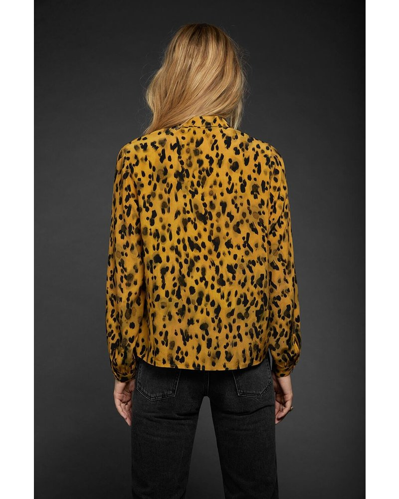 Anine Bing Lilah Shirt - Golden Leo