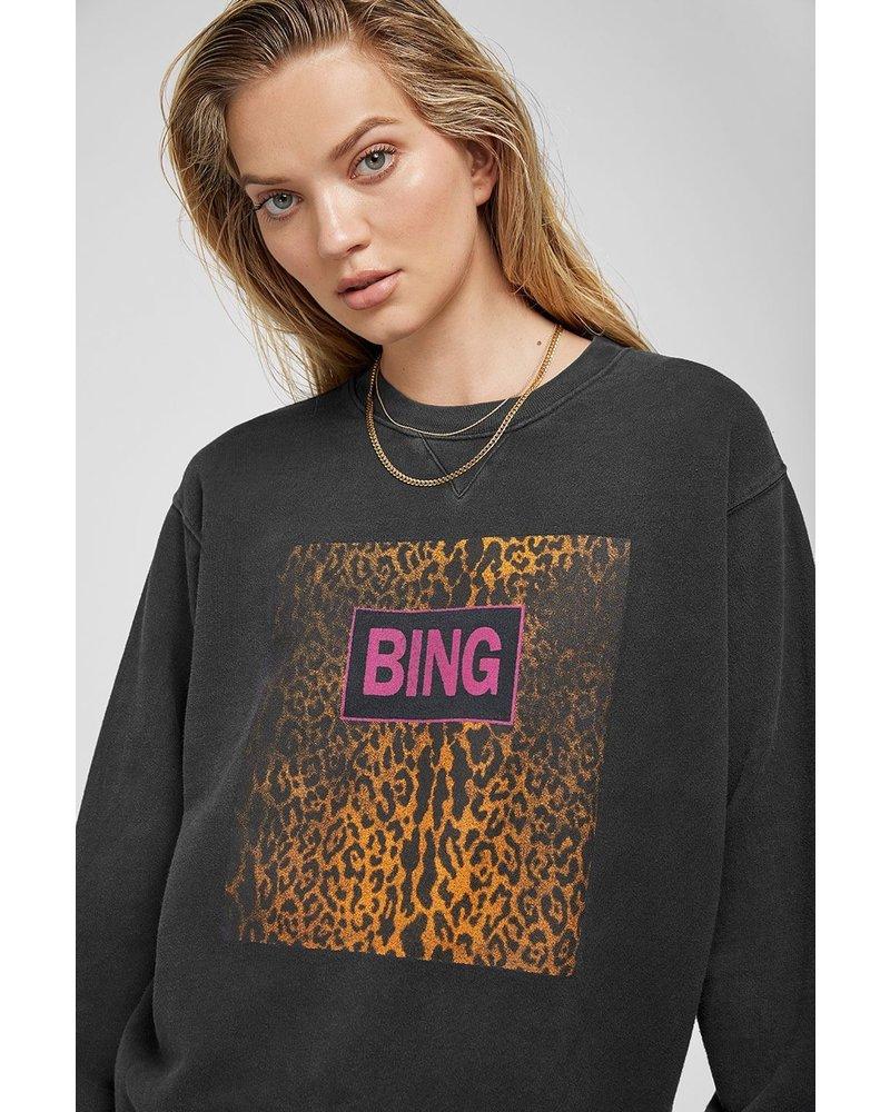 Anine Bing Ramona Sweatshirt - Washed Black