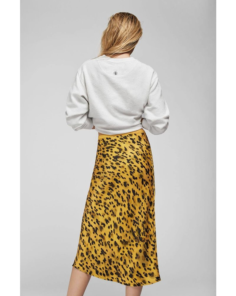 Anine Bing Bar silk skirt - Golden Leo