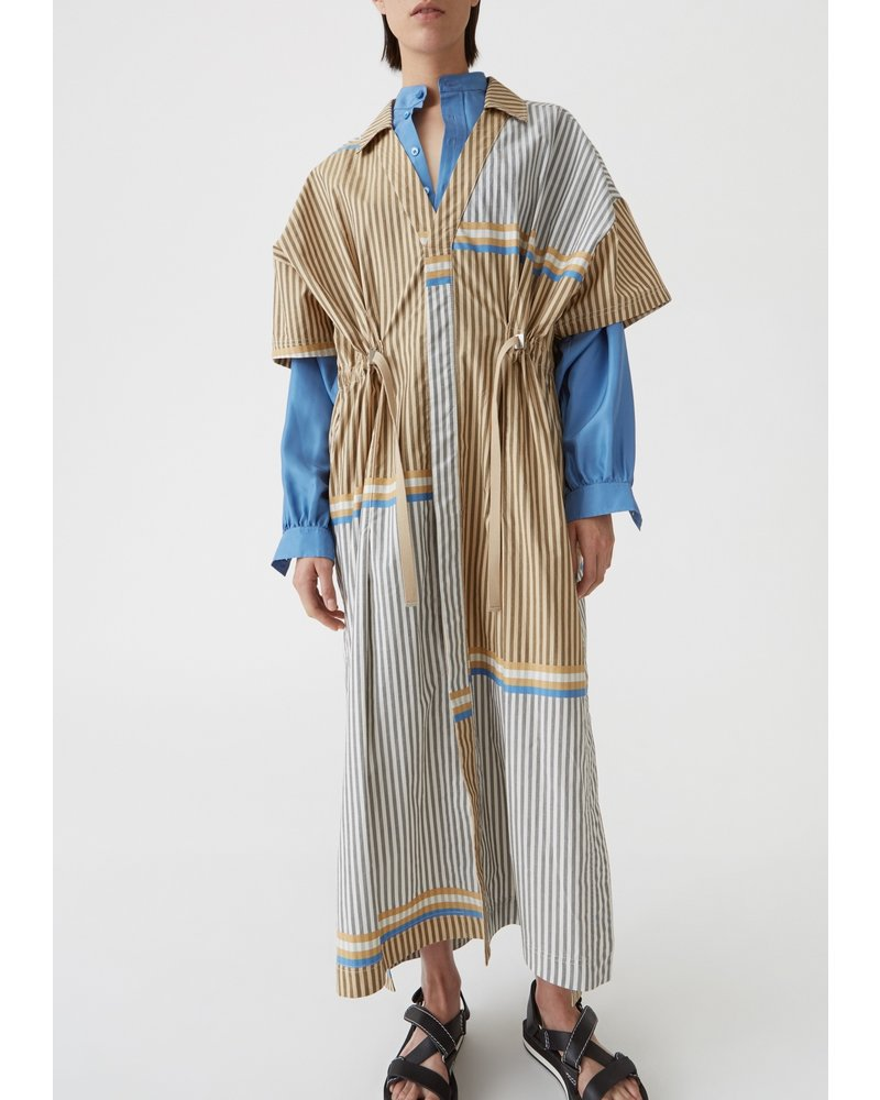 Hope Souk Kaftan - Beige Stripe