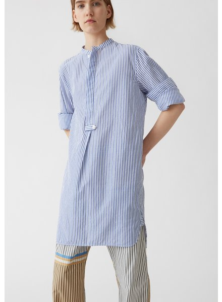 Hope Naji Shirt - Blue Stripe
